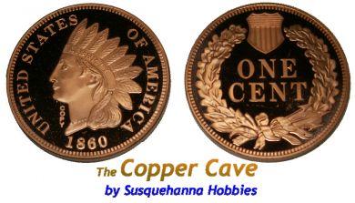 The Copper Cave By Susquehanna Hobbies Cmc Mint 1 Troy