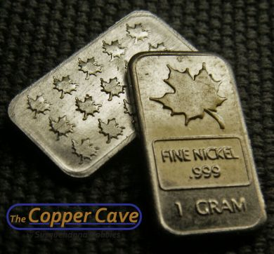 ad11dc4acef01 The Copper Cave by Susquehanna Hobbies - CMC 1 Gram Nickel Bar ...