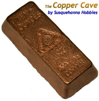 MH 10+ Ounce Copper Classic Ingot