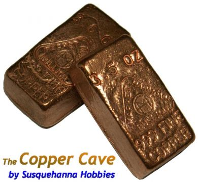 The Copper Cave By Susquehanna Hobbies Mh 3 Ounce 999